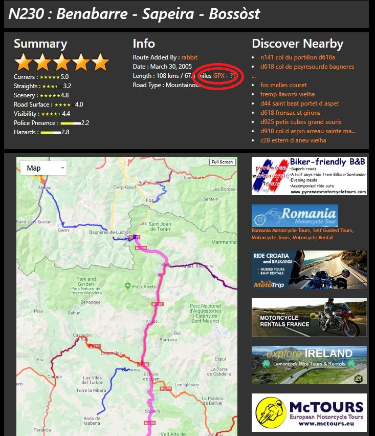 Use Basecamp with BestBikingRoads