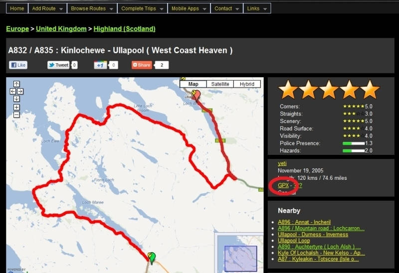 How to Use GPX Track Files in Garmin MapSource