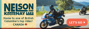 Minnesota USA Nelson Kootenay Lake by Motorcycle