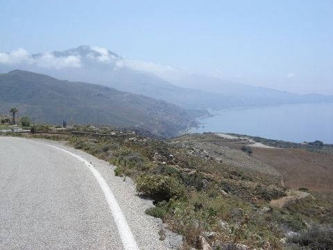 asomatos--preveli- Route Photo