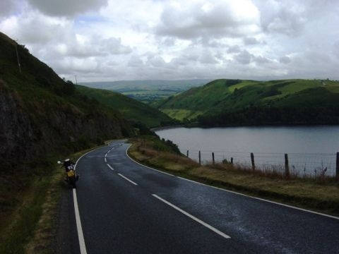 b4518-llanbrynmair--rhayader- Route Photo