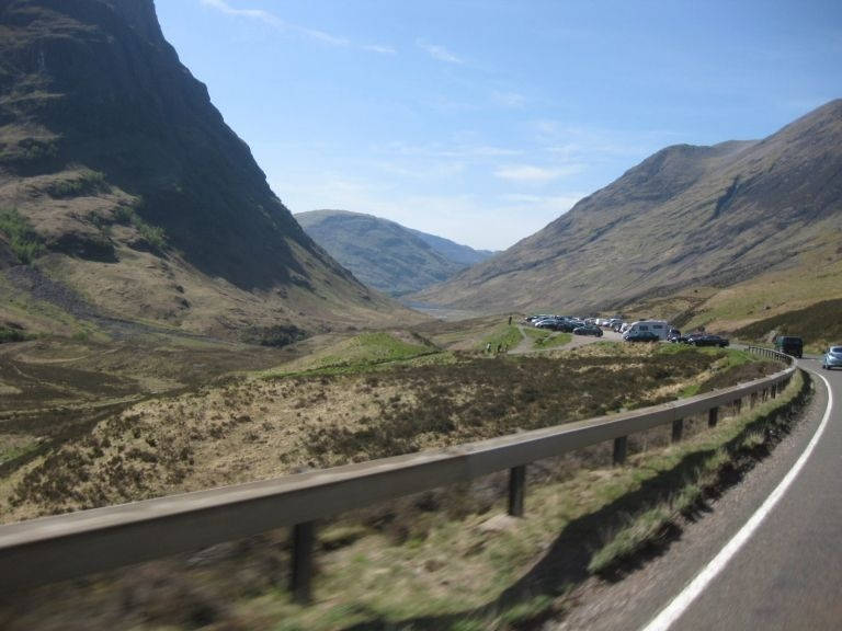 a82--crianlarich-- Route Photo