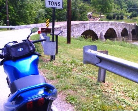 sharpsburg--harpers-ferry- Route Photo