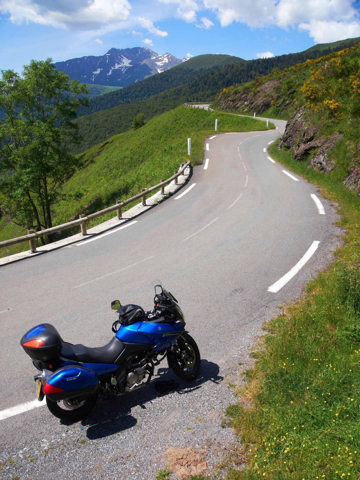 pyrenees--col-daspin- Route Photo