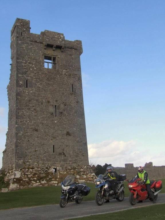 Motorbike Ride Corkscrew Hill Kinvarra Ballyvaghan