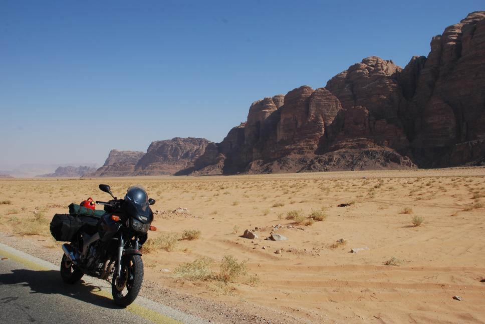 wadi-rum- Route Photo