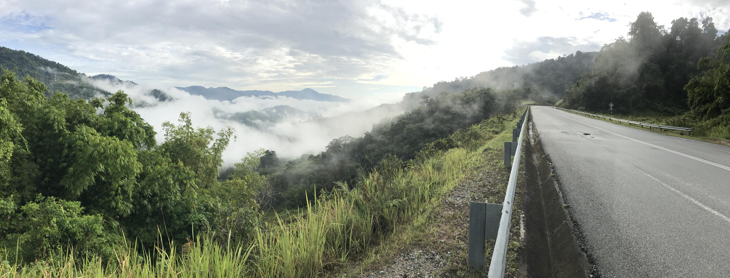 cameron-highlands-southbound- Route Photo