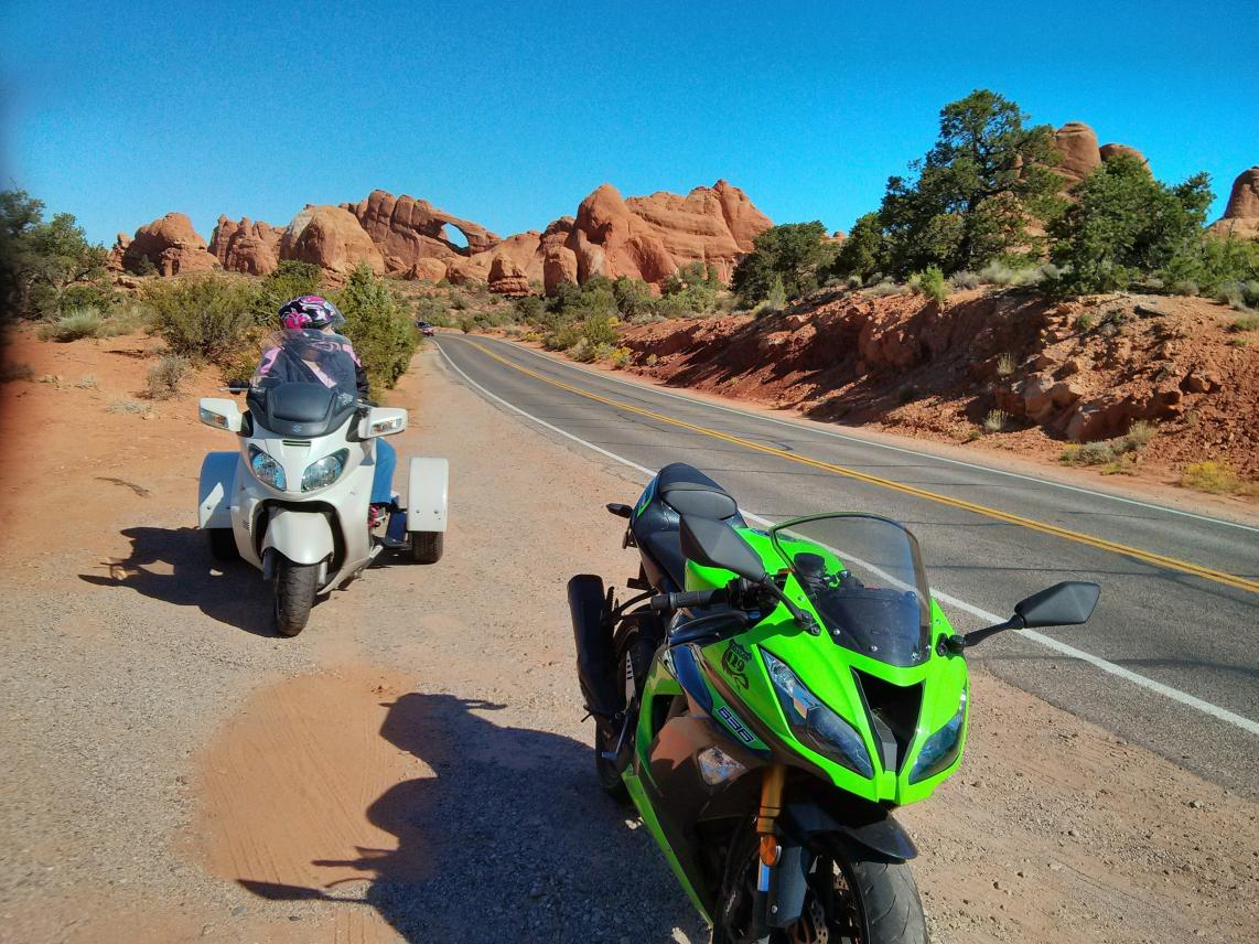 arches-national-park-- Route Photo
