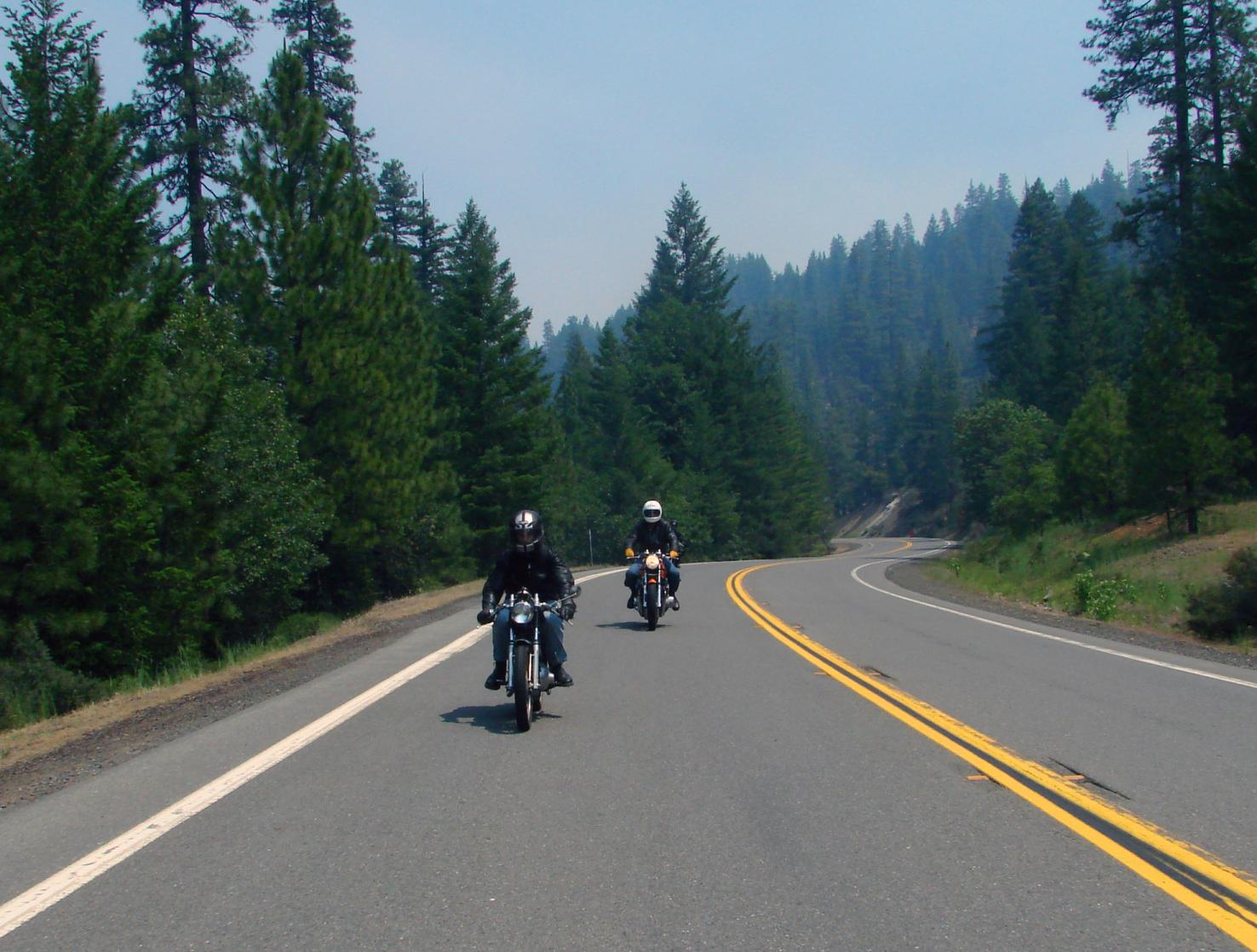 northern-california--mountain- Route Photo