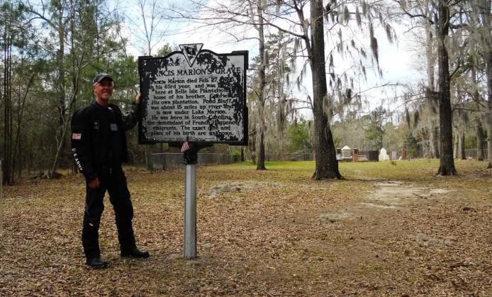 swamp-fox-revolutionary-tour- Route Photo