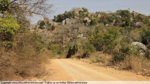 backroad-from-bulawayo-to- Route Photo