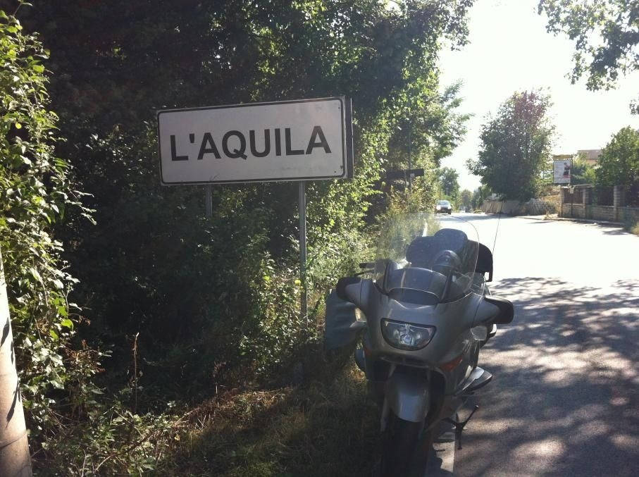 l-aquila--secinaro-- Route Photo