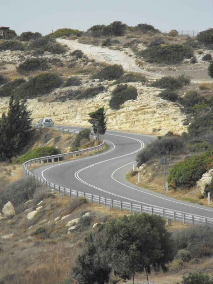 episkopi-coast-road- Route Photo